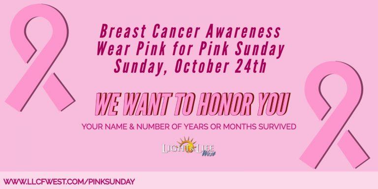 2021 Pink Sunday